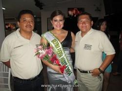 Coordinadores de los medios de comunicación de la FERIA HUIXTLA; Profr. Bivbai Mendezcruz, Juan Balboa, María Fernanda.
