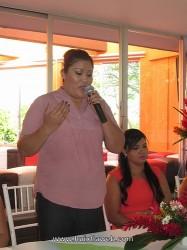 Lic. Cindy Jurado Coordinadora de la FERIA HUIXTLA 2014.
