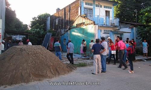Inicia la reconstrucción en Huixtla
