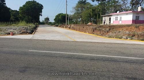 Culmina alcalde de Villa Comaltitlán carretera libramiento norte