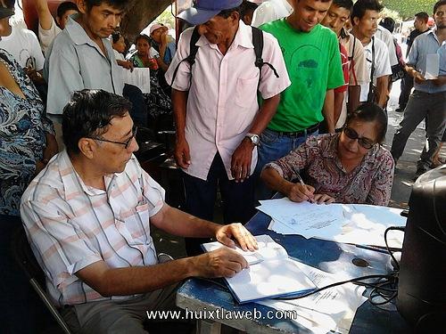 Protestan contra empresas mineras