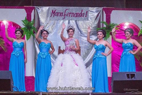 María  Fernanda  Nueva  soberana de La feria Huixtla  2015