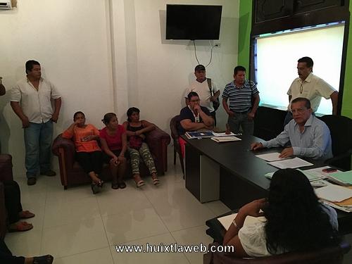 Con atención a las demandas ciudadanas el Gobierno de Huixtla, le cumple a su gente
