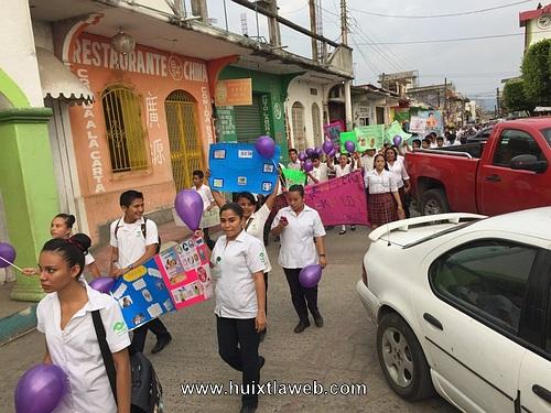 DIF municipal asiste a marcha contra la tuberculosis