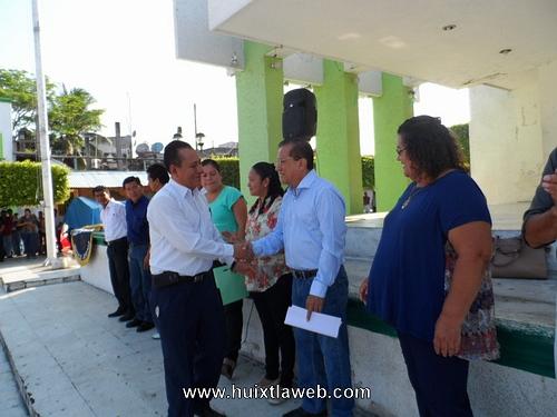 Apoyemos el deporte en el municipio Huixtleco: Ramón Ayala Pavía