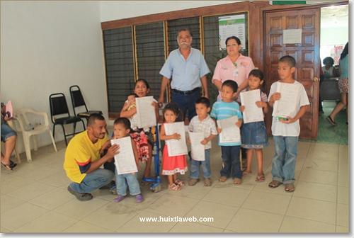 DIF realiza el asentamiento de 10 menores