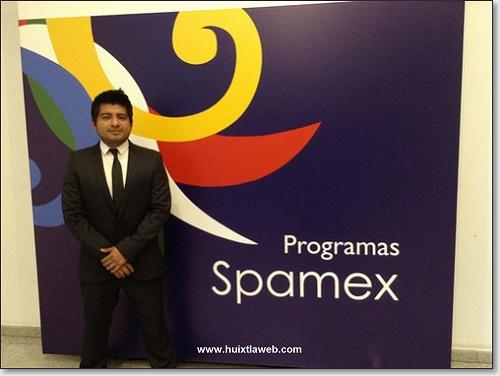 Estudiante Huixtleco Becado en Madrid, España