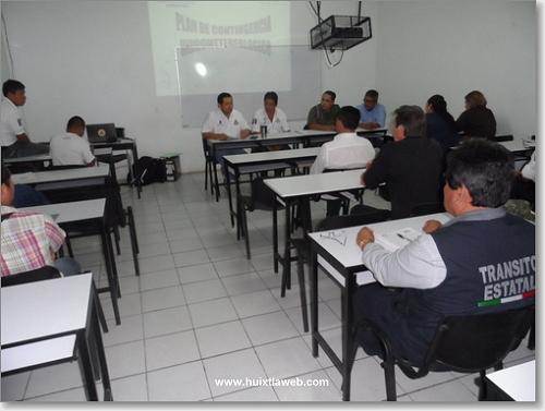 Protección civil trabaja en mitigación de riesgos en Huixtla