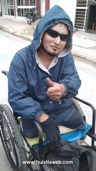 Discapacitado de Comalapa recorre el mundo