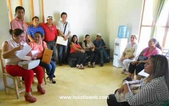 Se llevó a cabo en Huixtla la primera reunión para la entrega-recepción