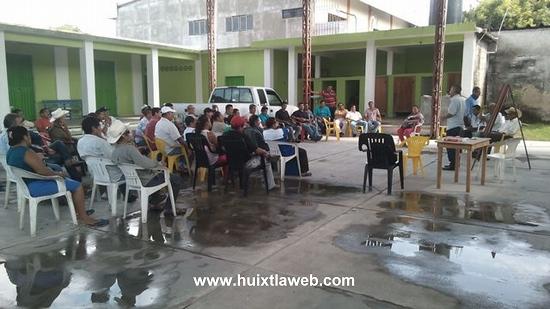 Se unen sectores de Huixtla para formar el consejo ciudadano