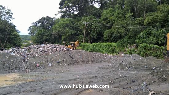 Ayuntamiento de Tuzantán prohíbe a particulares tirar desechos en el basurero municipal