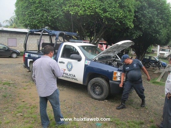 Reactivan patrullas de la policía municipal en Tuzantán