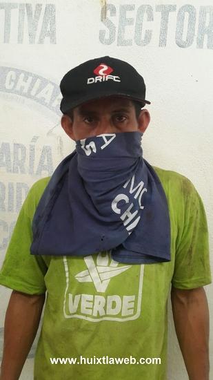 Capturan a violador de mujeres migrantes en Huixtla