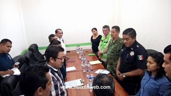 Instalan Concejo de Seguridad pública en Tuzantán