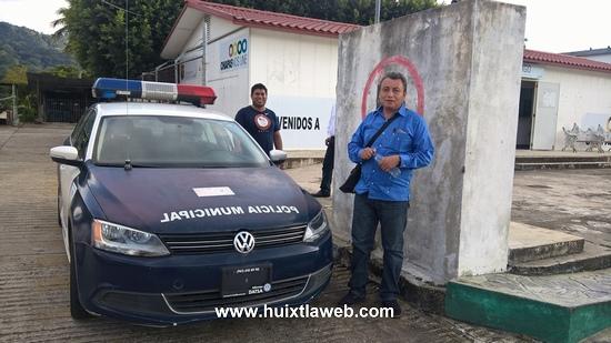 Recuperan ayuntamiento de Tuzantán patrulla abandonada en un taller