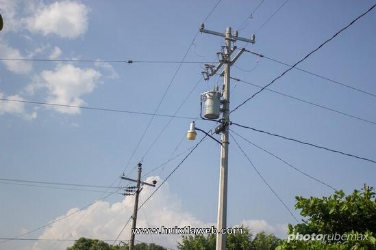 Deficiencia en el servicio de energía eléctrica en Huehuetán