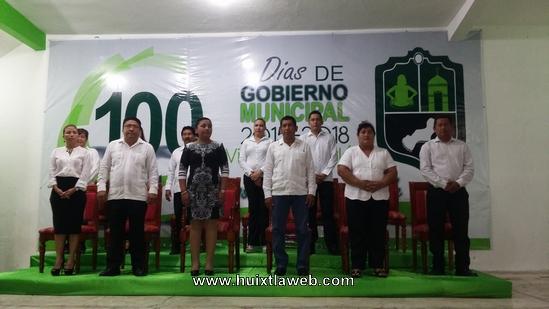 Cien Días de Gobierno Municipal, con resultados para Villa de Comatitlán