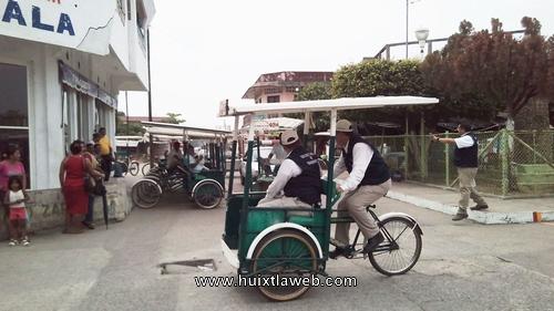 Secretaria del transporte realiza operativo contra triciclos piratas