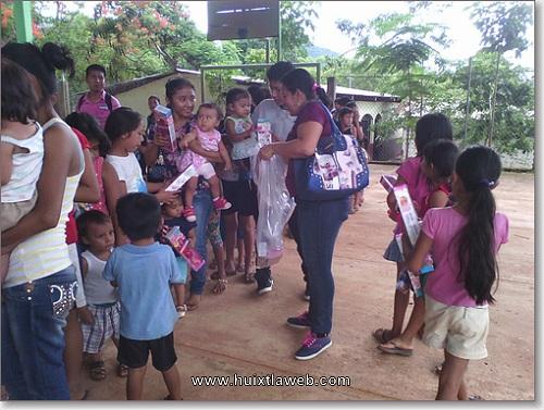 DIF de Comaltitlan han realizados actividades a favor de niños