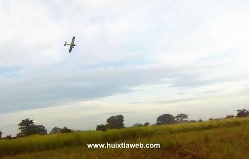 Fuera de control Fumigaciones aéreas en los municipios de Huehuetán, Mazatán y Huixtla