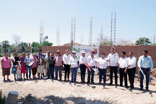Inician construcción de albergue comunitario en Villa Comaltitlán