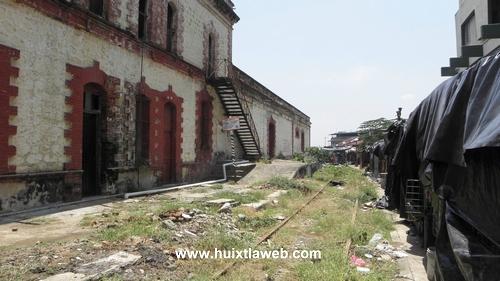 Años de historia y de abandono, la estación de ferrocarril