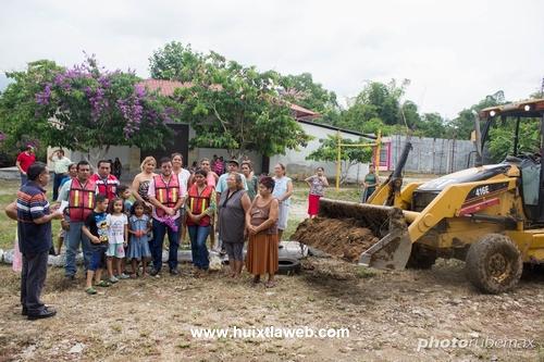 Inician Desazolve de drenes en Tuzantán