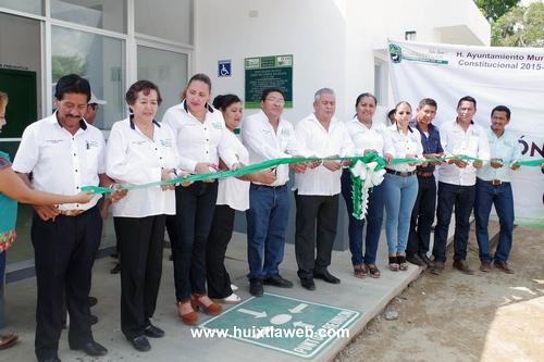 Inauguran dispensario médico en el Ejido Rio Arriba Salvación en Comaltitlán