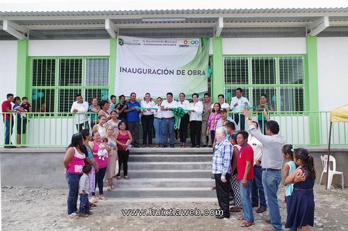Ayuntamiento de Villa Comaltitlán Inaugura Albergue Comunitario en Ejido Miguel Hidalgo