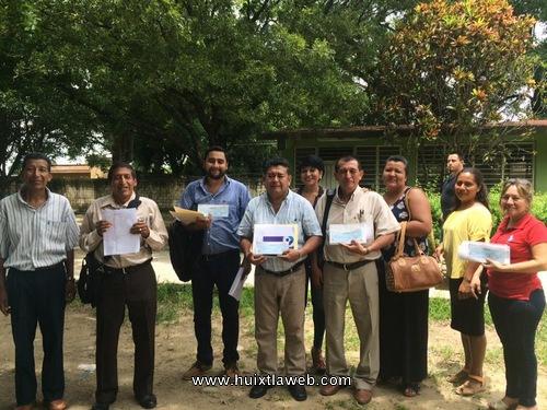 """Logran escuelas de Huixtla recursos del programa """"PRONAMEE"""" 2017"""