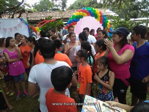 Concluye curso de convivencia infantil promovido por sindicato de salud en Huixtla
