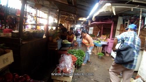Siguen robando en el interior del mercado de Huixtla