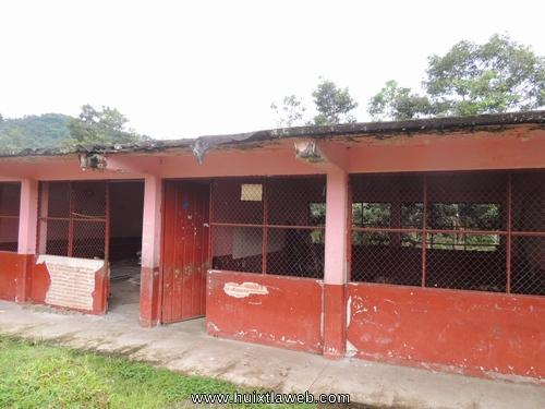 Terremoto cuarteó toda la escuela primaria del ejido El Progreso