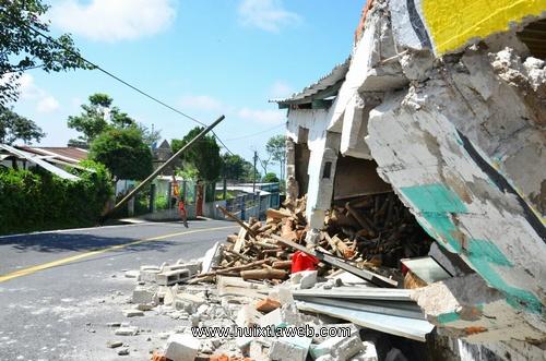 26 viviendas dañadas en Unión Juárez