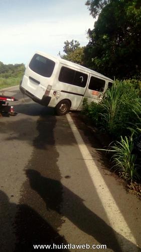 Se accidente colectivo en Pijijiapan