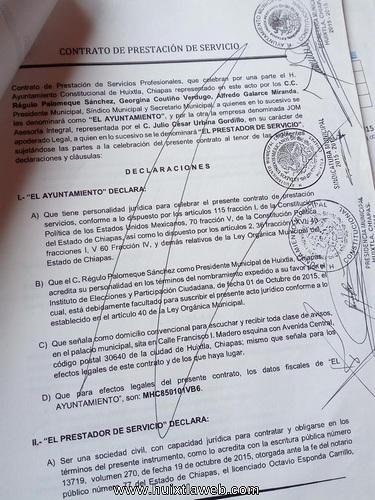 Debe investigar Organo de Fiscalización y Cabildo Actividad de presunta empresa fantasma en Huixtla