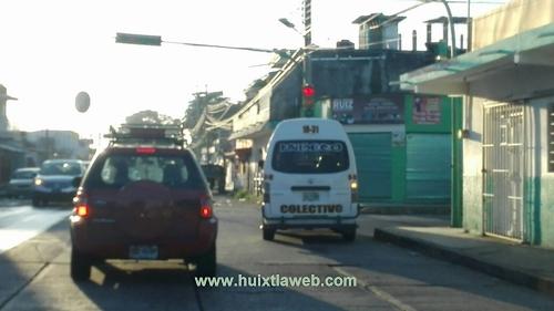 Corrupción propicia desorden en el transporte público