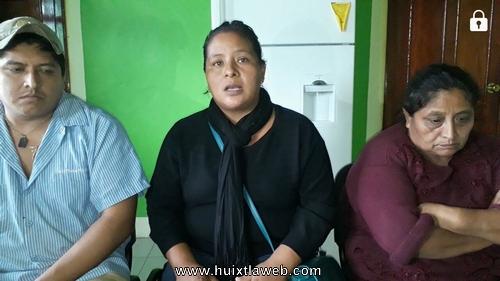 Familiares de ex comisariado de Zapata exigen justica a la Fiscalía General del estado