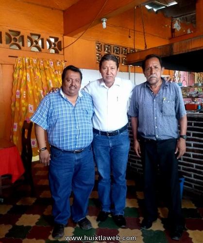 Buscan aspirantes de Morena la unidad del partido en Huixtla