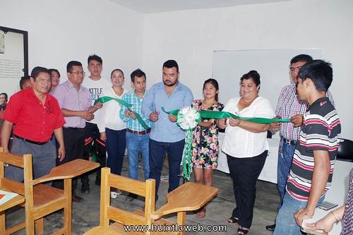 Inauguran actividades de la Preparatoria abierta en Villa Comaltitlan