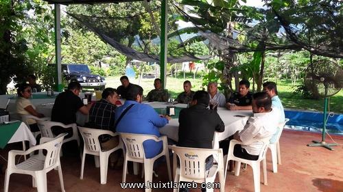 Cuarta sesión ordinara del COMSEP en Tuzantán