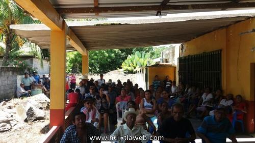 70 años sin escrituras comunidad de Huixtla