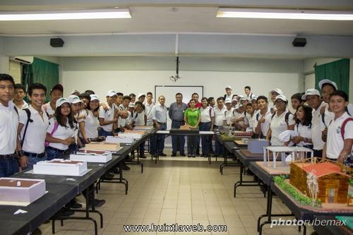 Realiza Conalep Huixtla Semana de la Construcción 2017