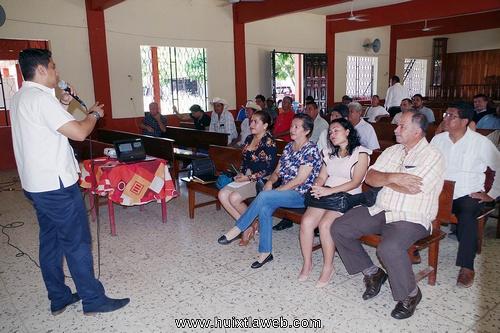 Autoridades rurales reciben capacitación del nuevo sistema de justicia penal en Comaltitlán