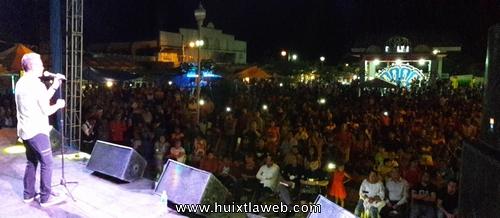Un éxito la presentación de Rabito en la Feria Tuzantán