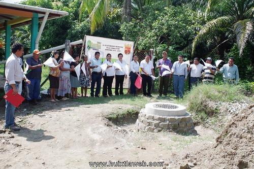 Inician ampliación de red de drenaje sanitario en Comaltitlán