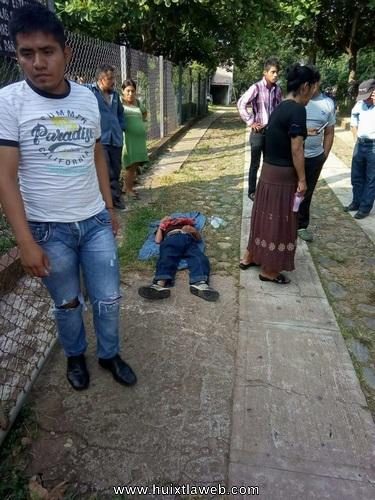 Investigan caso de taxista apuñalado en Huixtla