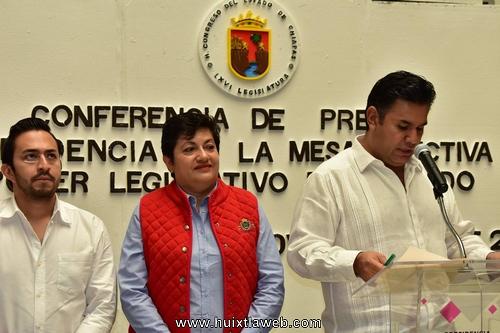 Comisión Especial para la Reconstrucción en Chiapas gestiona recursos extraordinarios