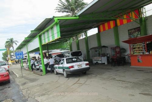 Triple asalto a taxistas de Huixtla